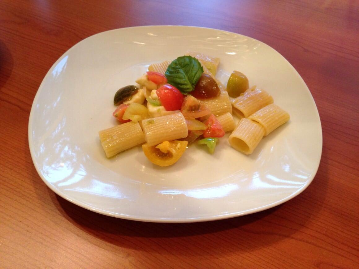 Italian Flag Pasta